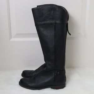 Franco Sarto Christine Leather Riding Boots 8.5